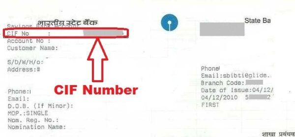 What Is A Cif Number And How To Find Your Cif Number In State Bank Of India Finding Yourself Cif Bank Of India