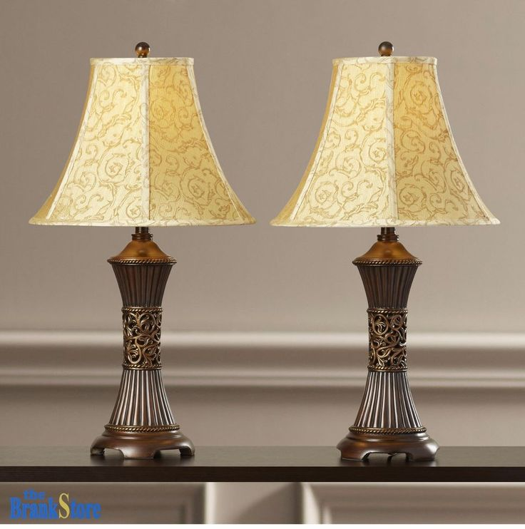 Bedroom table lamp sets