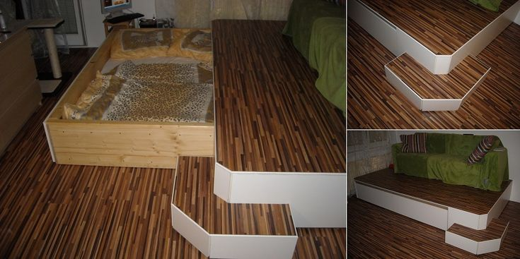Mask the Bed for Small Spaces - DIY - iCreatived