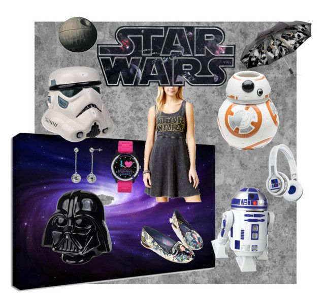 """Star Wars ☄"" by katherine-chocolate on Polyvore featuring Hybrid, ZAK, Irregular Choice and SMS Audio"