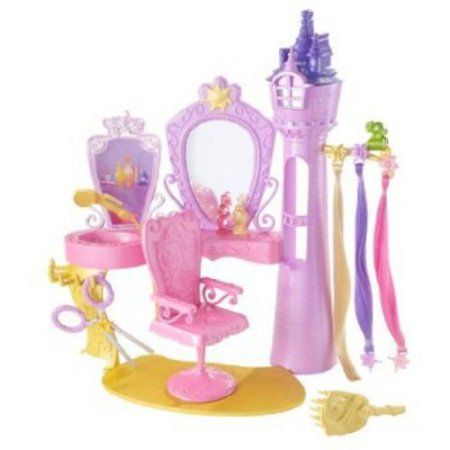 Disney Princess Rapunzel Hair Salon, Multicolor