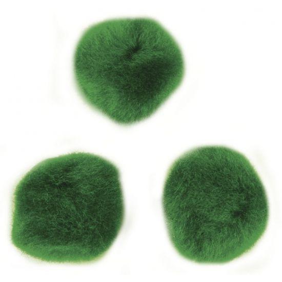 Knutsel pompons 60 stuks 15 mm groen  Zak met 60 stuks knutsel pompons 15 mm in de kleur groen. Deze groene hobby pompons kunt u gebruiken voor allerlei creaties bijvoorbeeld pompon diertjes.  EUR 1.80  Meer informatie