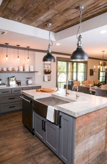 Best Kitchen Design Inspiration By Joanna Gaines 25