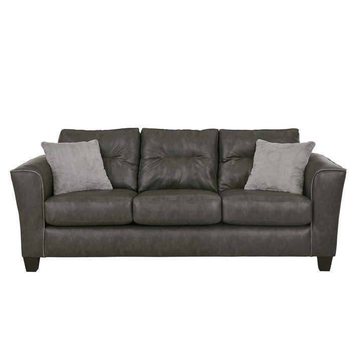 Broughtonville 80 Sofa Leather Sofa Sofa Faux Leather Sofa