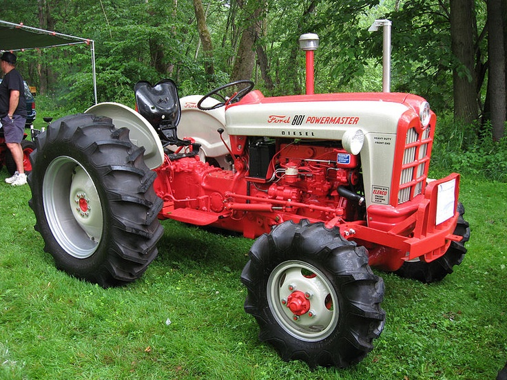 Large 4 Wheel Drive Tractors : Ford d powermaster with elenco four wheel drive