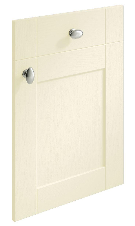 Cambridge Shaker Ivory replacement kitchen door