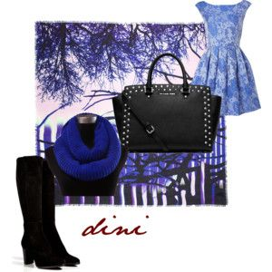 """""""this blue is so cool"""" by dini-ph on Polyvore"""