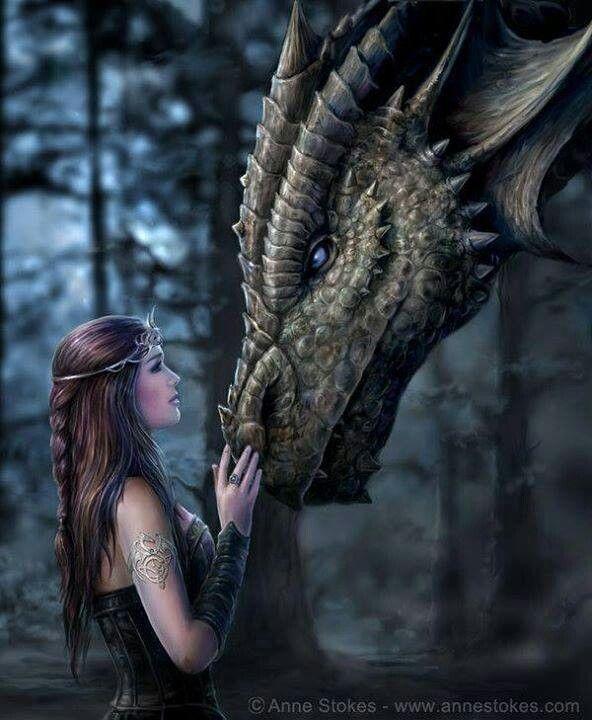 Fantasy art dragons