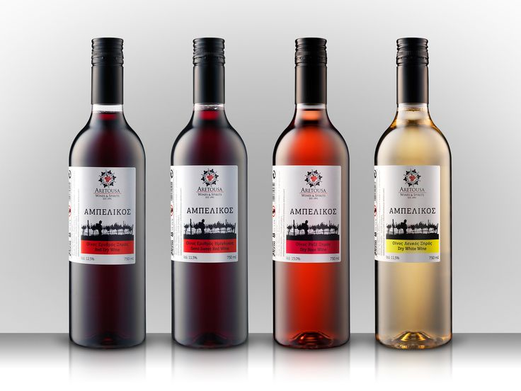 Aretousa Wines Photography - Post Production: Copyright File Photography Studio | Marios Karampalis 2015
