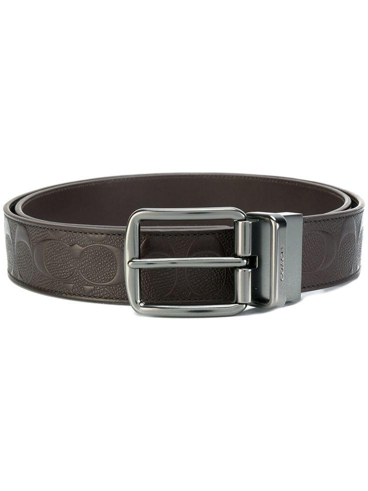 #coach #belt #brown #men #style #logo #leather #style #fashion #new    www.jofre.eu
