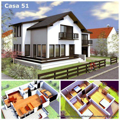proiect casa pe structura din lemn