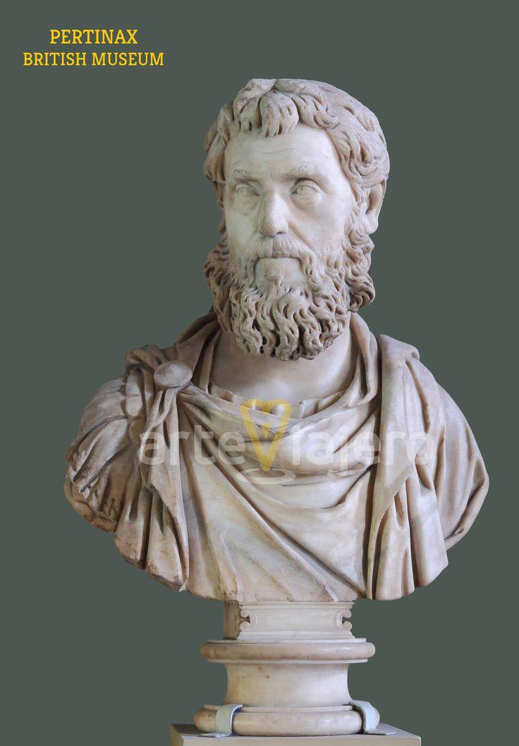 Pertinax, Museo Brtitánico