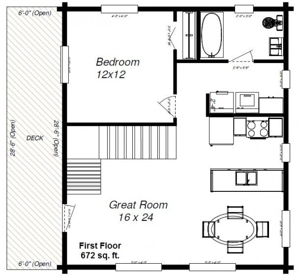 1 Choice With Loft Cabin Floor Plans Pinterest Lofts