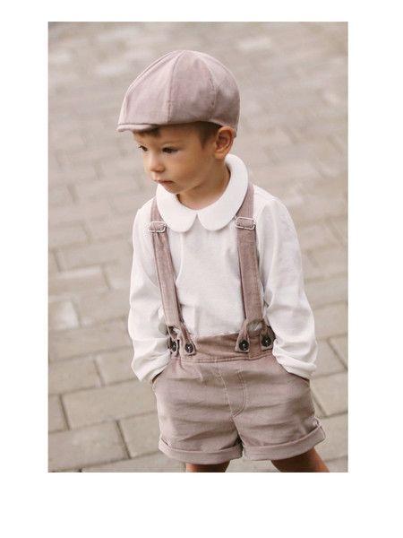 Festmode - 4-Set Baby Junge Outfit, Taufe, Geburt, Hochzeit - ein Designerstück von mimiikids bei DaWanda
