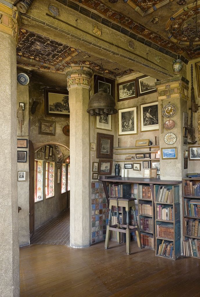 Another view of the Study at Fonthill :: via Flickr