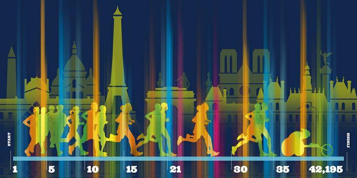 Marathon de Paris : Course légendaire.