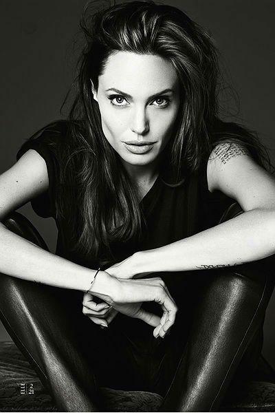 Анджелина Джоли для Elle US #fashion
