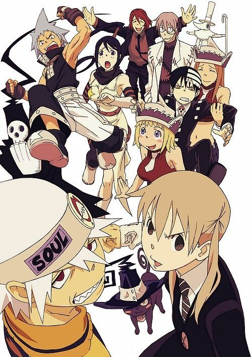 Soul eater Maka and the other students at the Death Weapon Meister Academy must kill 99 evil humans and other witch, absorbing their spirits when they die.