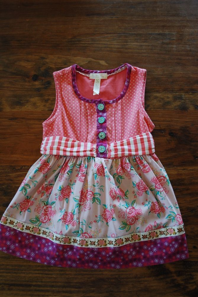 Matilda Jane Friends Forever Astara Fancy Sara Top Size 4 ~EUC!~ #MatildaJane