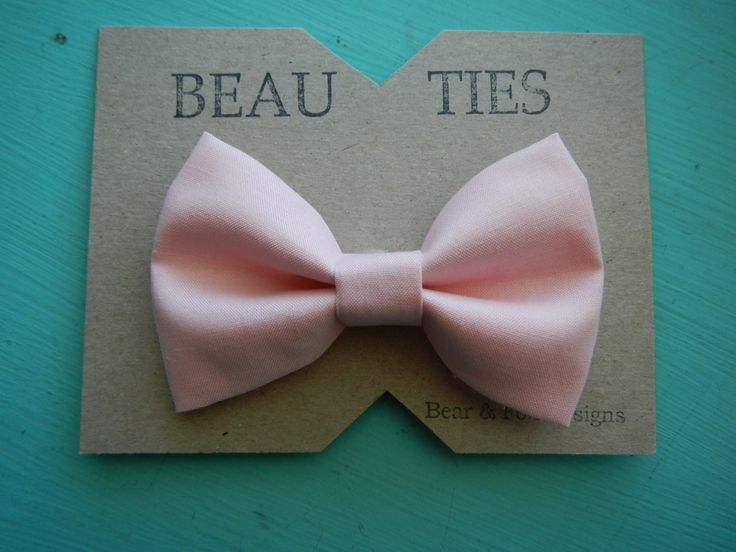 A personal favorite from my Etsy shop https://www.etsy.com/listing/150733380/baby-boy-toddler-clip-on-bow-tie-blush