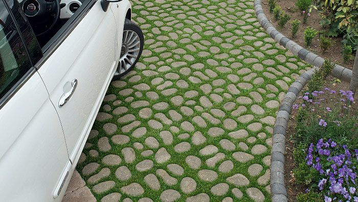 Bioverse Permeable Paving System is practical as well as decorative #pathways #driveways #garden #landscaping