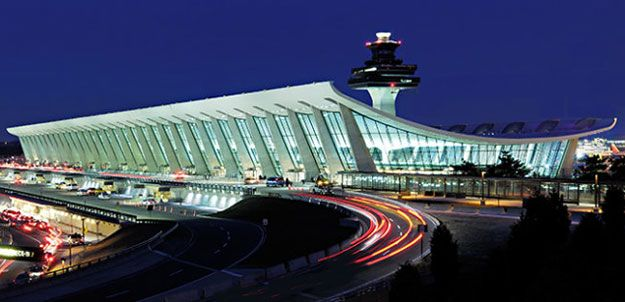This was the first time I flew on my own from Heathrow to Washington Dulles airport.