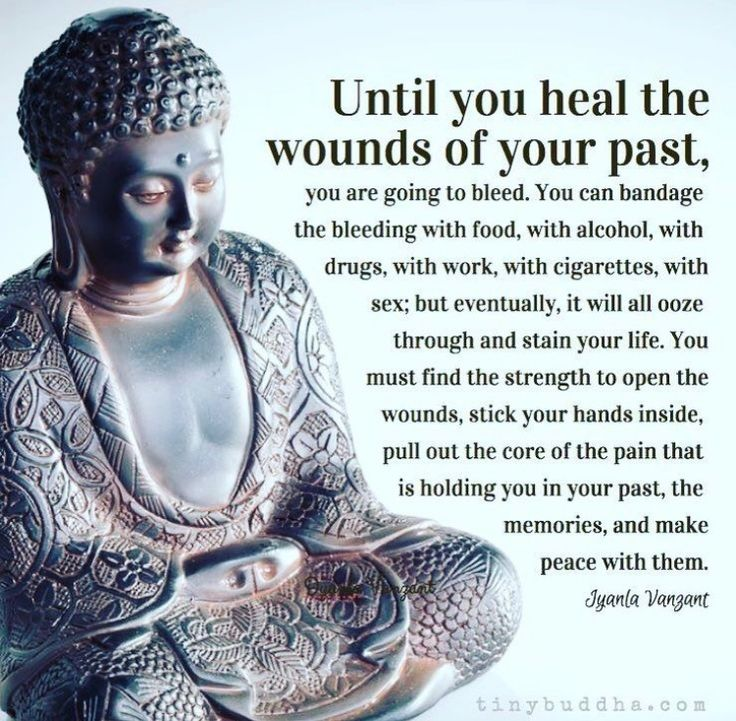 Healing the wounds of the past...