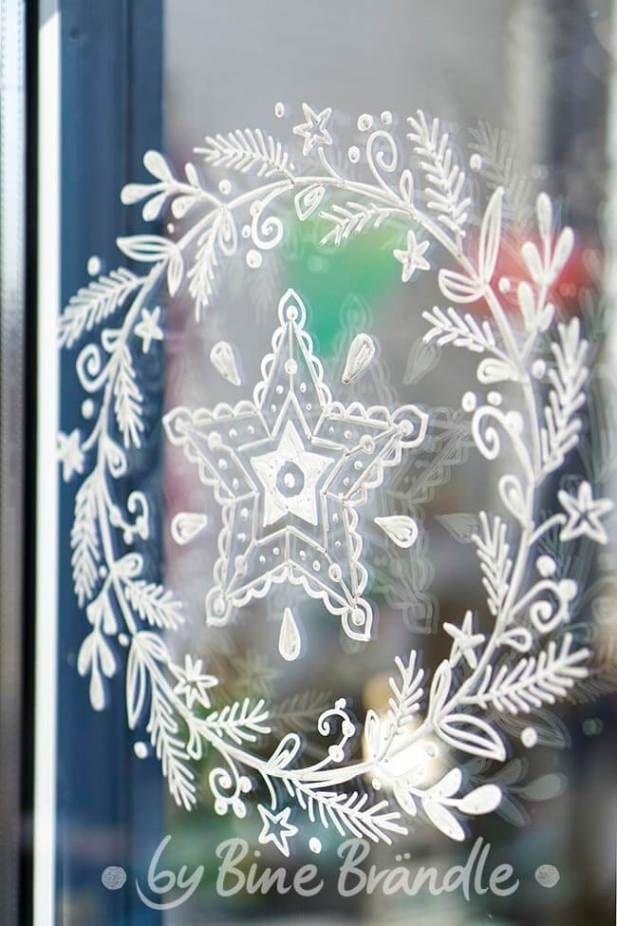 Vorlagenmappe Xxl Mappe Bine Brandle Fensterbilder Weihnachten Weihnacht Fenster Weihnachtsdeko Fenster