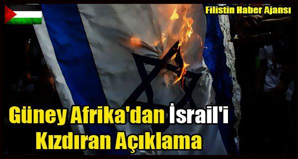 Güney Afrika Su İşleri Bakanı Nomvula Mokonyane'nın yaralı Filistinlinin kurşunlanarak katledilmesini, Güney Afrika'daki siyahilere karşı uygulanan ırkçı ayrımcılıkla kıyaslaması İsrail'i öfkelendirdi.   #afrika israil eleştiri #filistin haber #filistin zulmü #güney afrika #güney afrika filistin #israil ırkçılık #israil kızdırdı #nomvula mokonyane