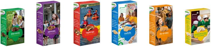 9 best girl scout cookies images on pinterest girl scout