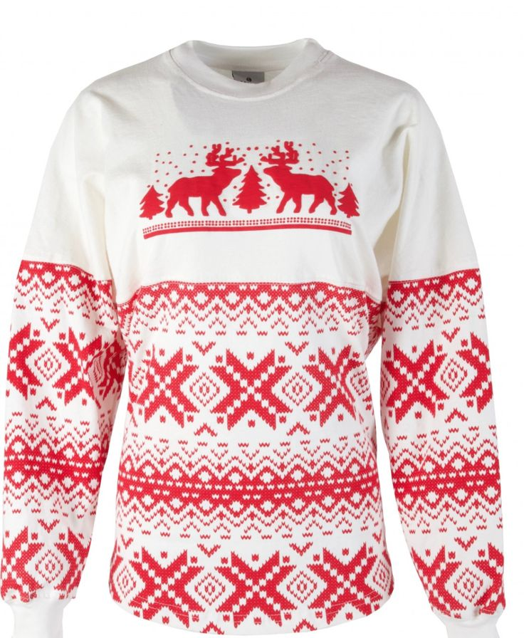 Shop the top-selling Duluth Pack Spirit Jersey Women's Christmas Sweater this season! Not all sweaters have to be ugly. Rep the brand you love this holiday season with this festive Duluth Pack sweater. Perfect gift for yourself or giving to someone you love deer-ly. Made in America. Available both in-store and online at www.duluthpack.com now!
