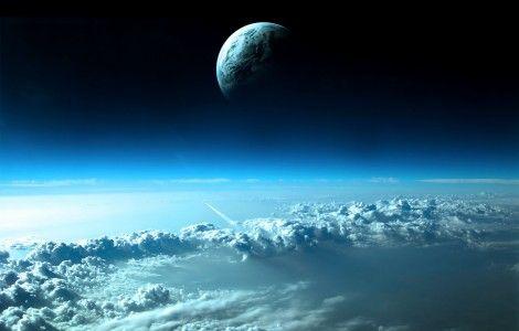 Fantasy : Beautiful Space View 4K Desktop Wallpaper
