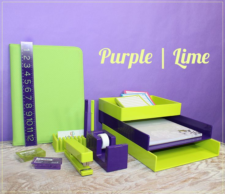 Great ... Lime Green Office Accessories