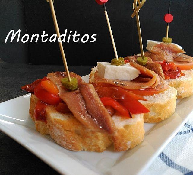marronglacè: Montaditos de anchoas