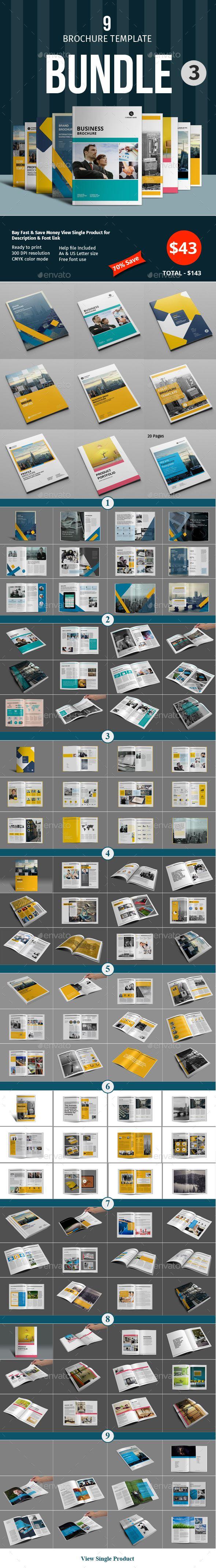 Brochure Template Bundle - InDesign INDD
