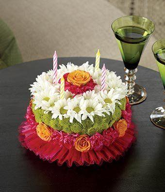 ... on Pinterest  Birthday wishes, Happy birthday kitten and Flower cakes