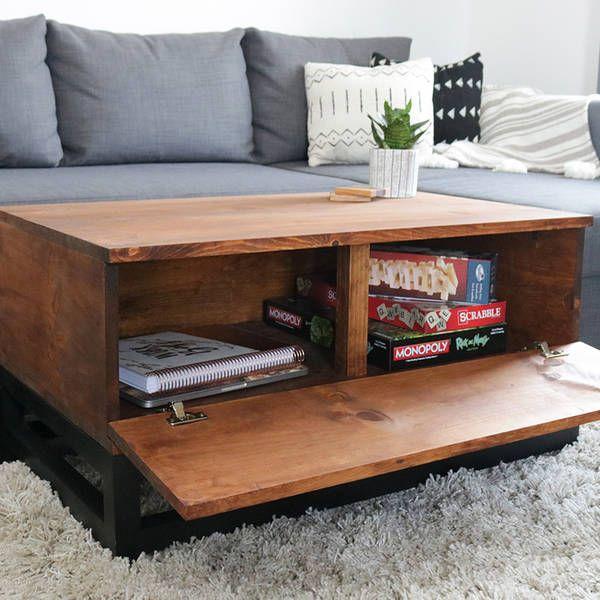 Ryobi Nation Diy Storage Coffee Table Diy Storage Coffee Table Coffee Table With Hidden Storage Coffee Table