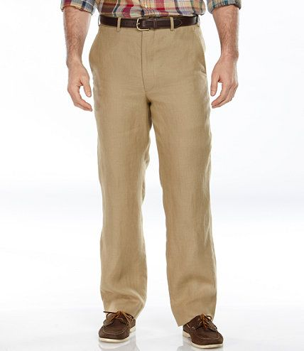 Hertling Trouser Company Linen Pants: Casual Pants | Free Shipping at L.L.Bean