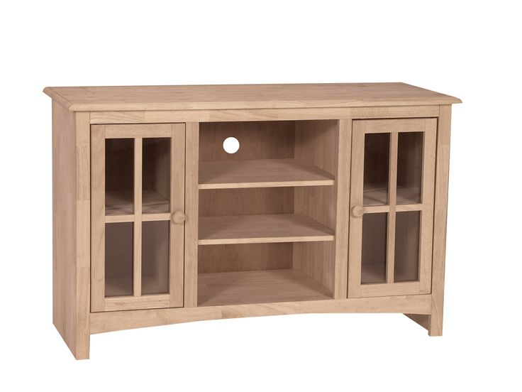 Unfinished 48 Tv Stand 48x18x30 Built
