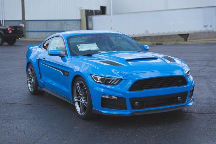 Roush Grabber Blue Mustang