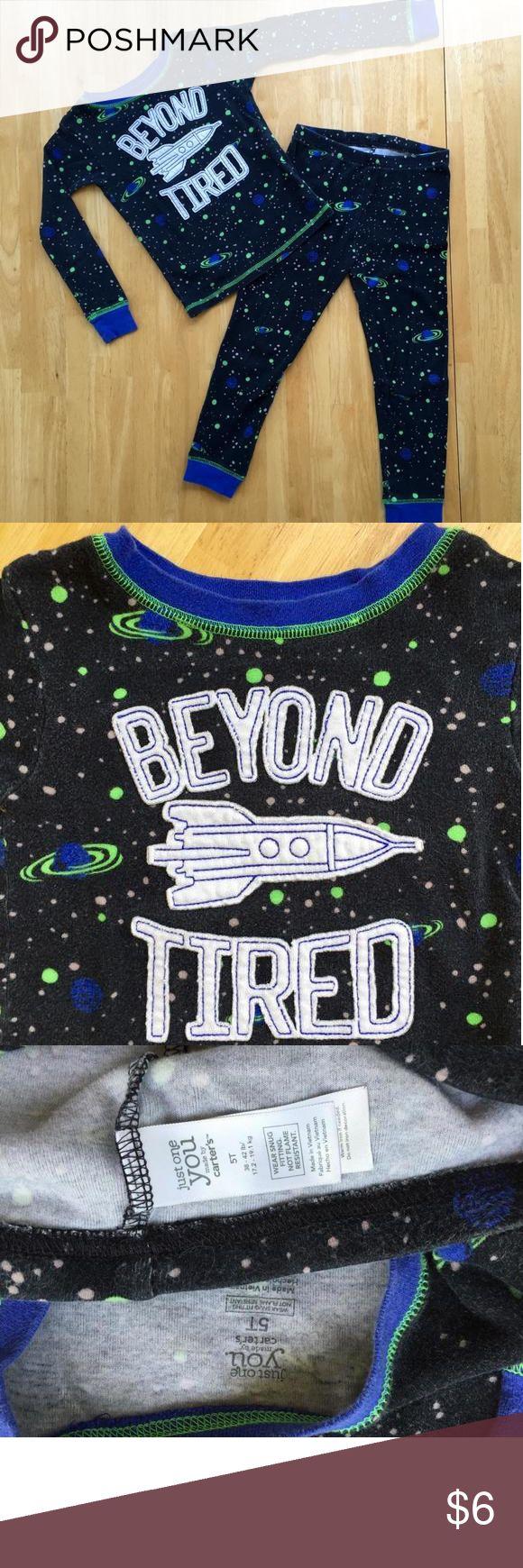 H.P.🎉 😴 Pjs Space PJ's. Carters Pajamas Pajama Sets