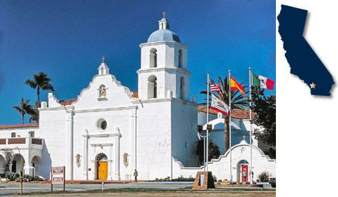 San Luis Rey de Francía  The 18th of the California MissionsCalifornia Mission