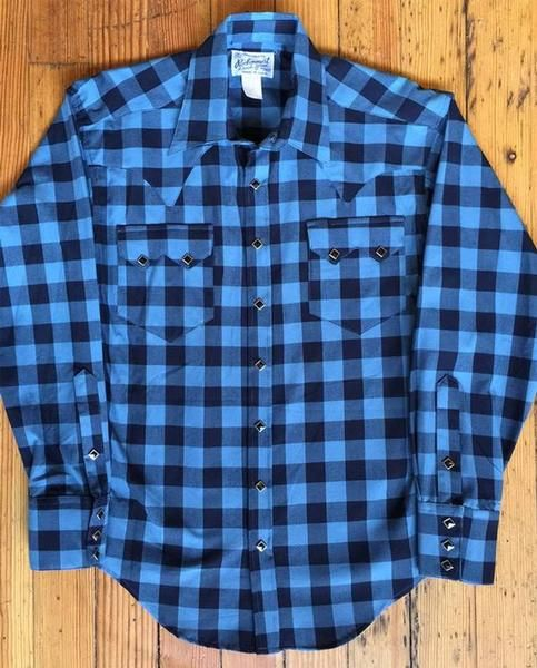 6ca4f133a Mens Western Shirt Collection: Rockmount Buffalo Check Flannel ...