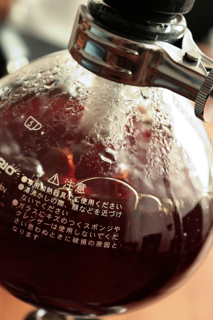 Make :coffee: with #Syphon by # Kavala_Coffee.