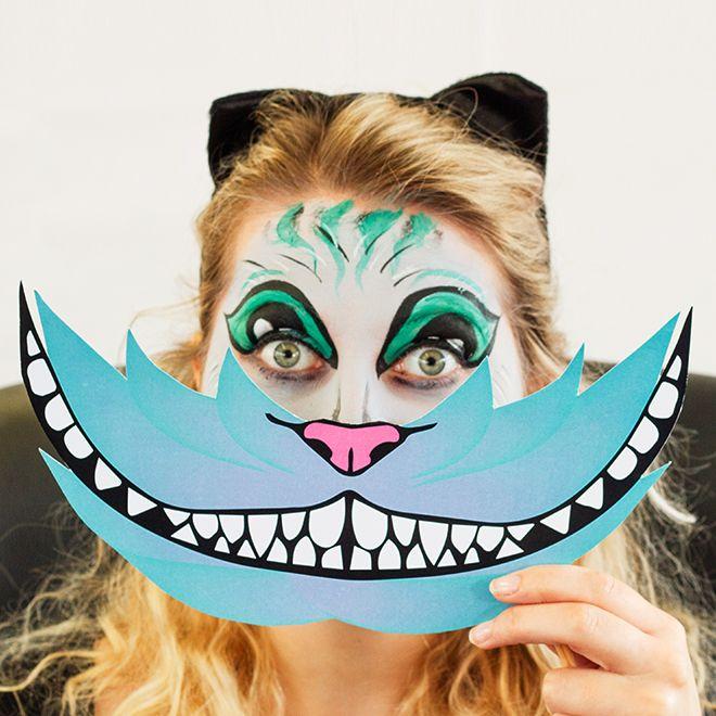 25 best ideas about cheshire cat face paint on pinterest. Black Bedroom Furniture Sets. Home Design Ideas
