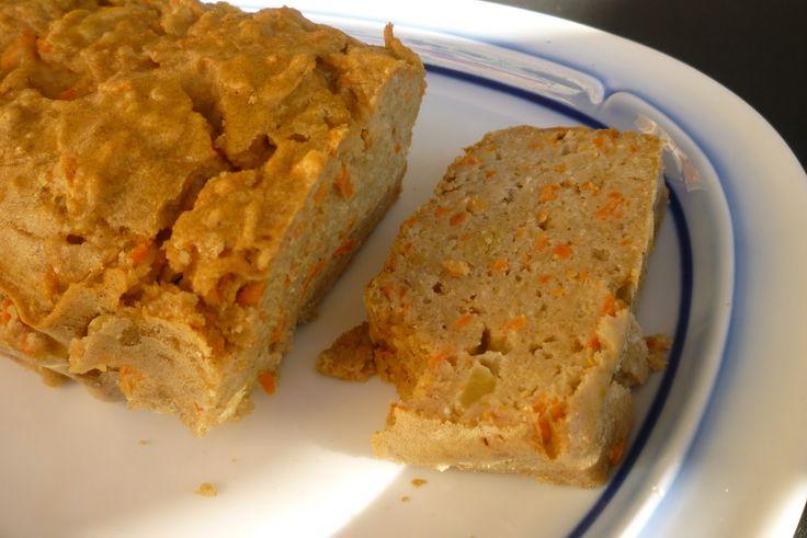 Dieta anti-cándida: CAKE DE ZANAHORIA Y MANZANA