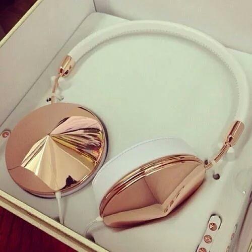 Frends Rose Gold Headphones
