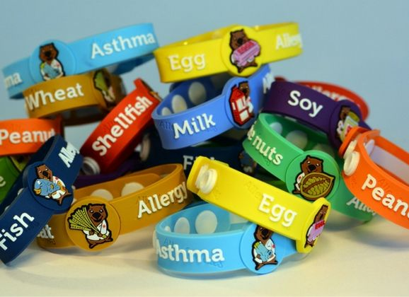 ALLERBUDDIES ALLERGY & MEDICAL CONDITION ALERT BRACELETS FOR KIDS  AllerBuddies range of allergy and medical alert bracelets were created with kids in mind.  The bright colourful designs and the bold Dr Willow Wombat emblem ensures that those around your little one will be alerted to their condition and aid in keeping them safe.