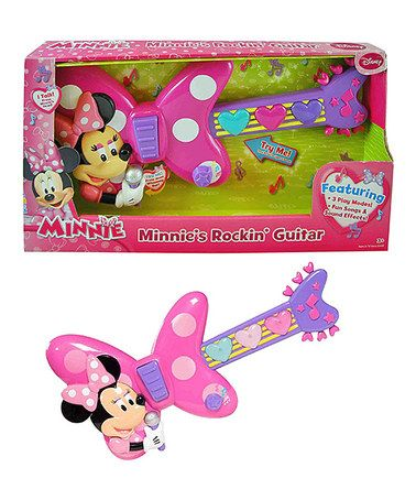 Look at this #zulilyfind! Minnie Mouse Guitar #zulilyfinds