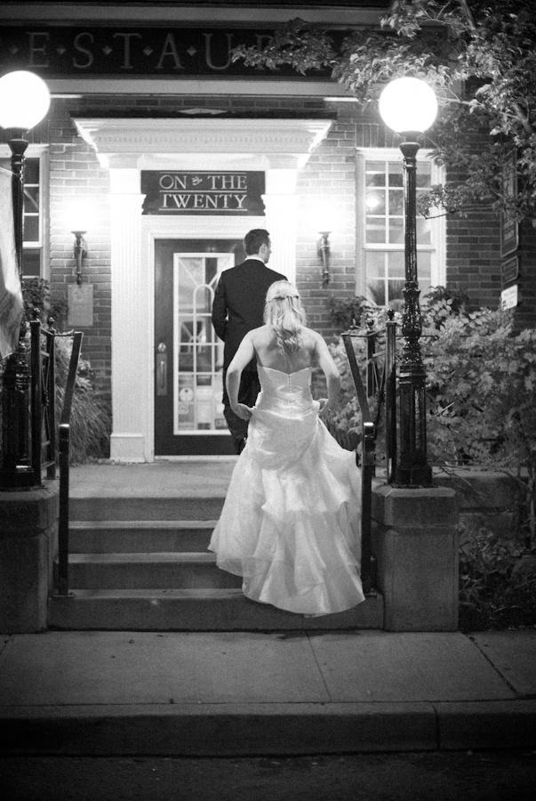 Inn on the Twenty romantic wedding